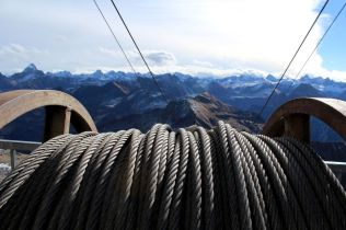 Neues Zugseil für die Gipfelbahn